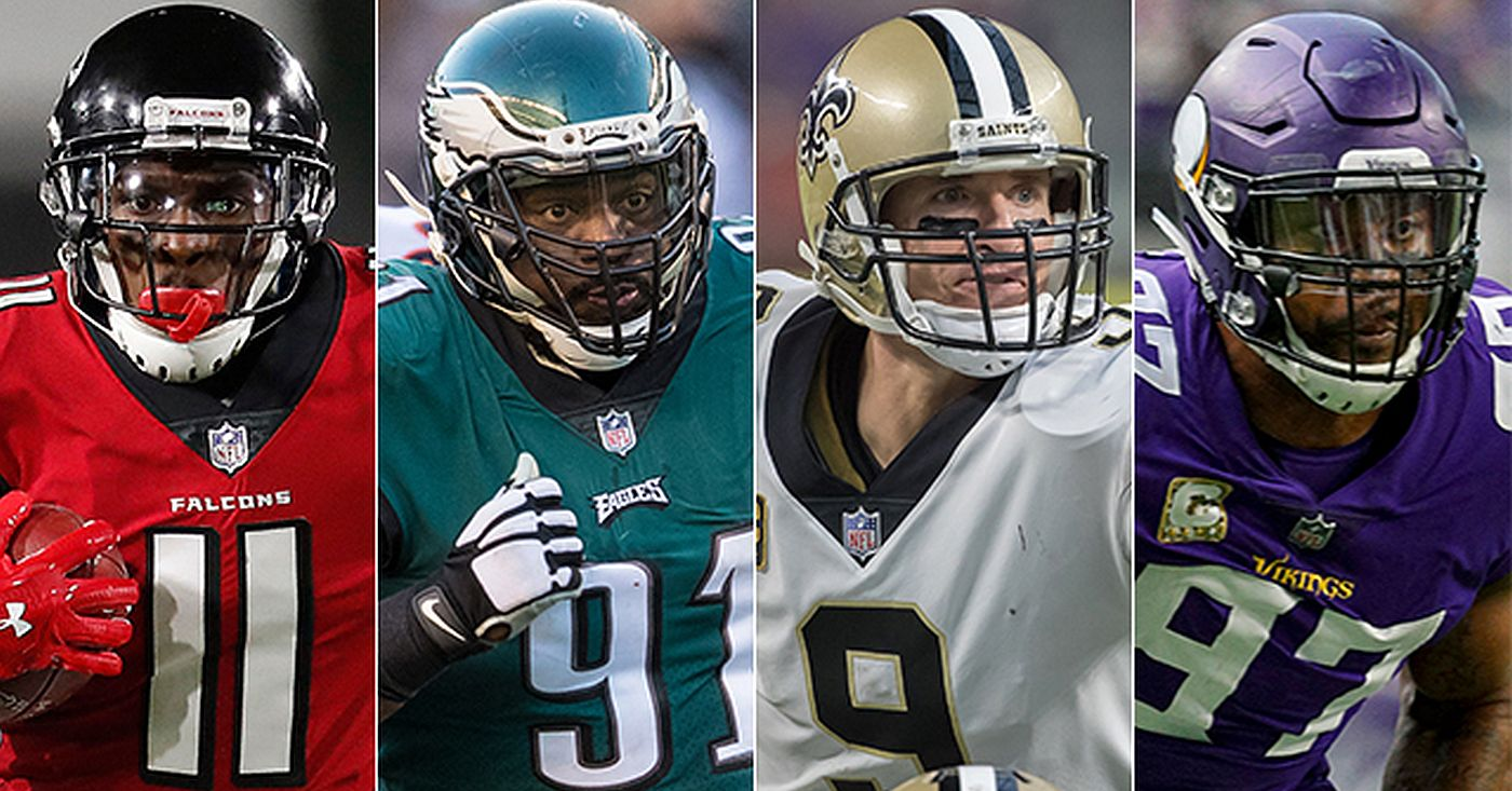 03948b08aeb NFL Divisional Round Playoff Betting Picks: Falcons at Eagles, Titans at  Patriots, Jaguars at Steelers, and Saints at Vikings